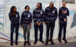 WCBD Co-Founders (L to R): Jenay Powell, Celeste Brown, Anthony McClenny, Spencer Carter, Kevin Courts