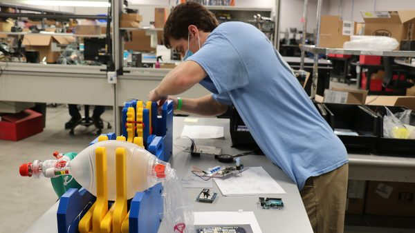 Thomas Kierski, graduate student in the Dayton Lab