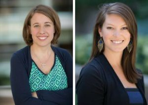 UNC Lineberger's Alison Brenner, PhD, MPH, (left) and Stephanie Wheeler, PhD, MPH, and their colleagues examined the impact of targeted outreach to more than 2,100 people insured by Medicaid who were not up-to-date with colorectal cancer screening.