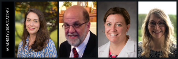 From left to right: Drs. Lindsay Wilson, Ken Fortier, Jennifer McEntee, and Katie Weinel