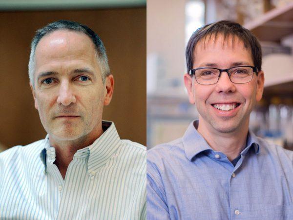 Joe Eron, MD, and Brian Kuhlman, PhD