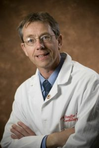 """George """"Rick"""" Stouffer, III, M.D., F.A.H.A., chief of cardiology and co-director of the McAllister Heart Institute at UNC."""