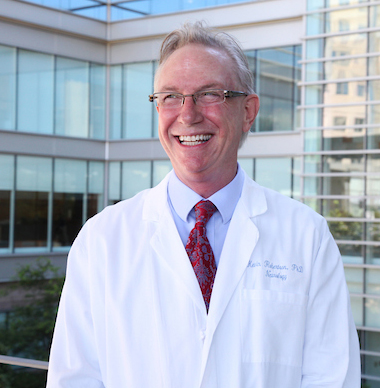 The late Kevin R. Robertson, PhD, professor of neurology and director of neuropsychology, was co-lead author of the study.
