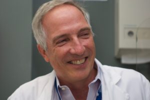 Joseph J. Eron, MD, chief of the division of infectious diseases, is a co-author of the study.  (Photo Credit: Bradley Allf)
