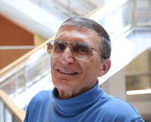 Aziz Sancar, MD, PhD (photo by Max Englund, UNC Health Care)