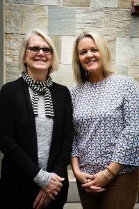 Carol Henderson (left) and Heidi Gessner