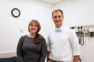 Anne Steptoe and Patrick O'Shea/ Photo by Lane Deacon, UNC Health Care