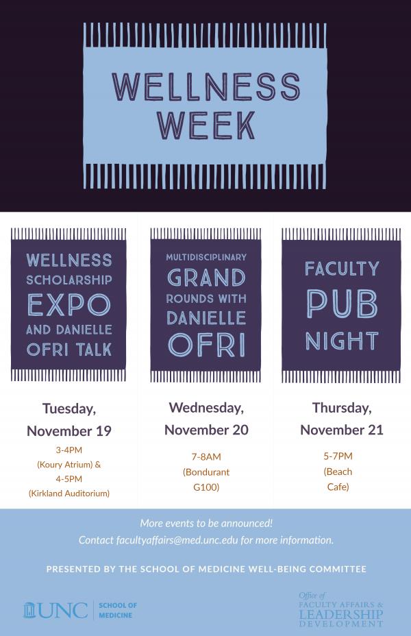 Talk information for Dr. Danielle Ofri