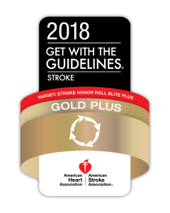 Five UNC Health Care hospitals received the American Heart Association/American Stroke Association's 2018 Get With The Guidelines®-Stroke Gold Plus Quality Achievement Award.
