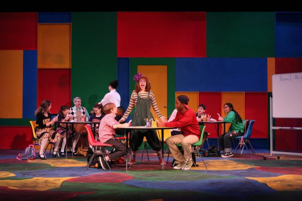 A scene from the Raleigh Little Theatre's production of Junie B. Jones, The Musical!