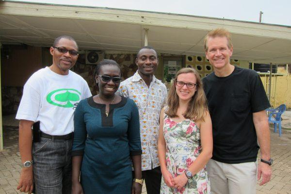 Jean-Claude Mwanza; Maureen Armah; Francis Bottey; Samantha Tulenkoe
