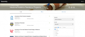 UNC's residency program in Medicine/Pediatrics was ranked No. 1 by reputation.