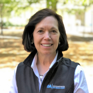 UNC's Leigh F. Callahan, PhD, is Director of the Osteoarthritis Action Alliance