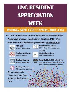 Resident Appreciation Week Flyer