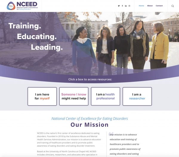 The first phase of the NCEED website officially launched on Feb. 25, 2019.