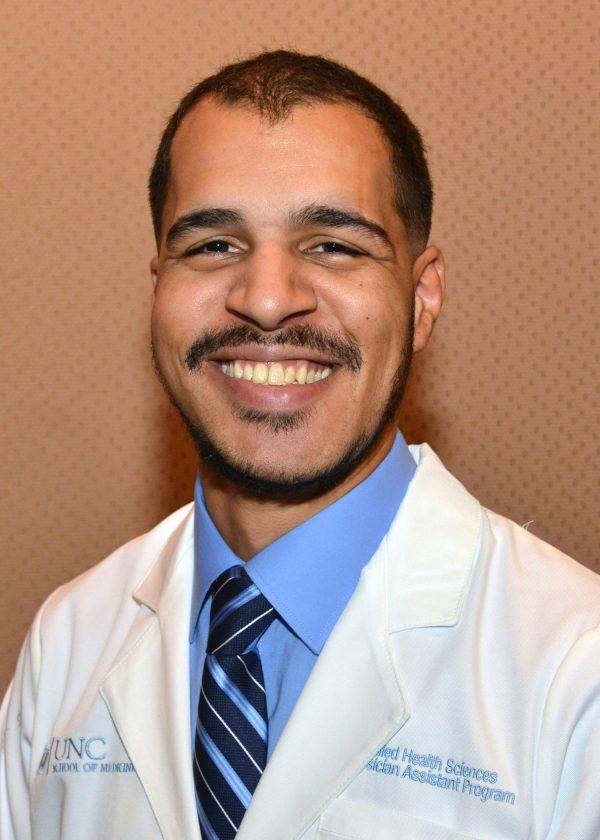 Alec Fields, a second-year Physician Assistant Studies student.
