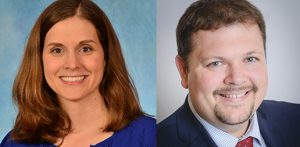 Emily Sickbert-Bennett, PhD, and Phillip Clapp, PhD