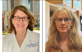 Drs. Nancy Thomas and Kathleen Conway-Dorsey