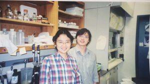 Qian and Liu as doctoral students at University of Michigan