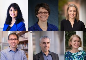 Recipients of the 2020-2021 Awards for Excellence in Basic Science Mentoring